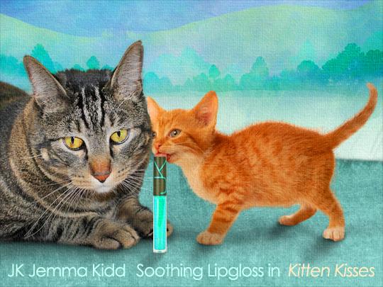Tabs for JK Jemma Kidd Soothing Lipgloss in Kitten Kisses