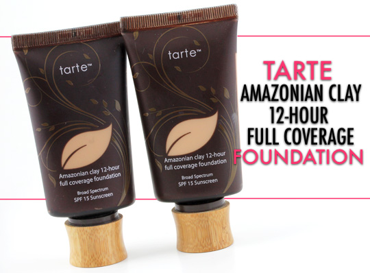 tarte amazonian clay full coverage foundation (2)