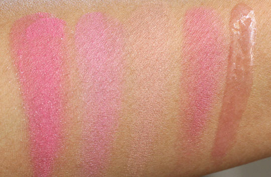Physicians Formula spring 2012 swatches 2