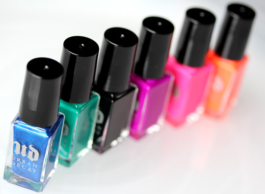 Urban decay summer 2012 nail kit radium