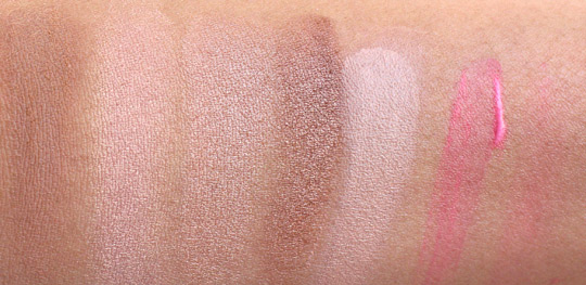 benefit cabana glama swatches
