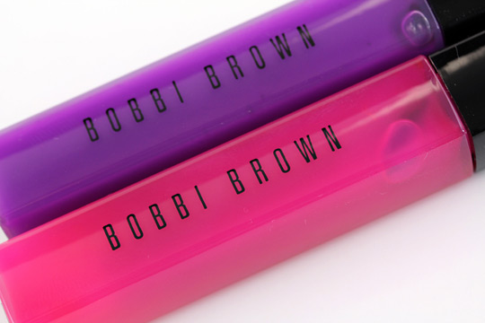 bobbi brown neons nudes cosmic pink ultra violet