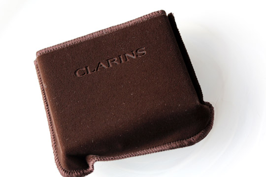 clarins bronzing duo 01 pouch