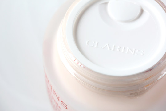 clarins extra firming day cream open