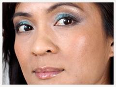 Estée Lauder Five Color Gelée Powder EyeShadow Palette in Bronze Sands