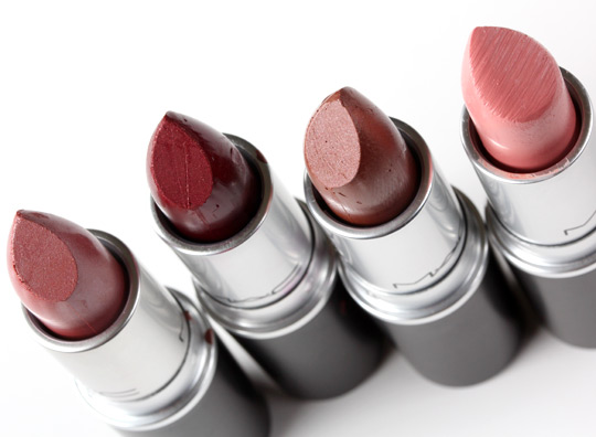 mac by request lipsticks