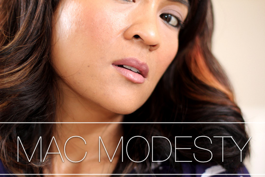 Wonderlijk MAC Unsung Heroes: Modesty Cremesheen Lipstick - Makeup and Beauty EZ-91