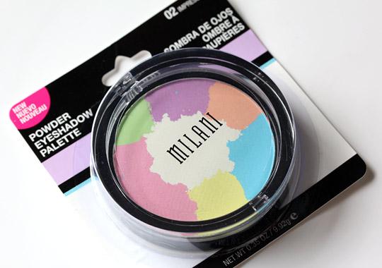 milani impressionist powder eyeshadow palette