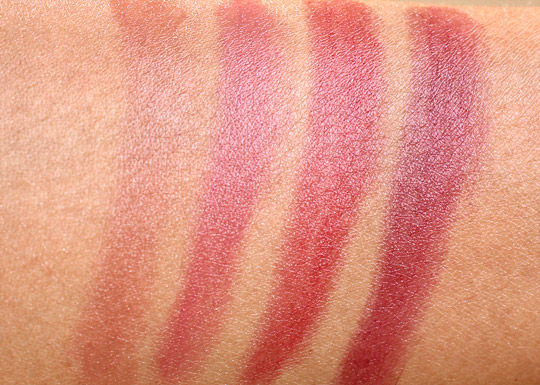 pixi brilliance balm swatches