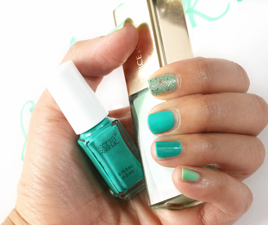 A St. Patrick's Day Nail Tutorial
