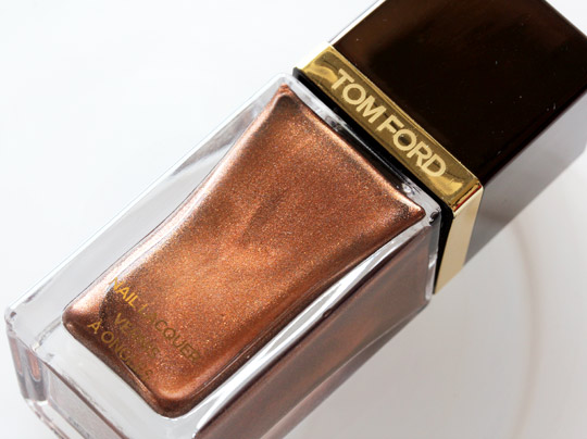 tom ford burnished topaz nail lacquer