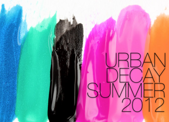 urban decay summer 2012
