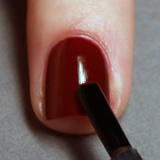 Salon perfect manicure: step 6