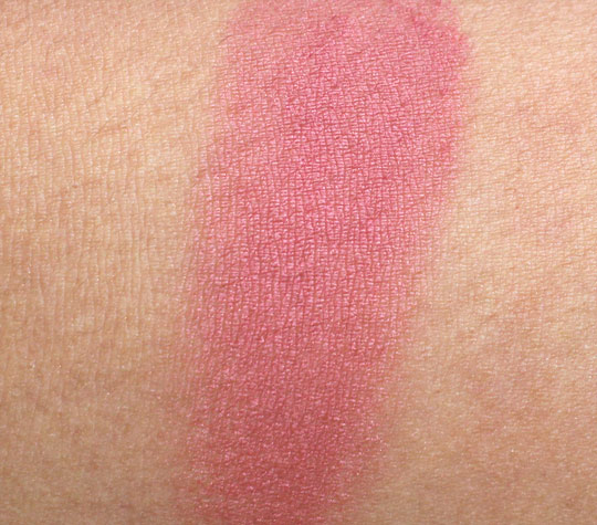 mac breezy blush swatch