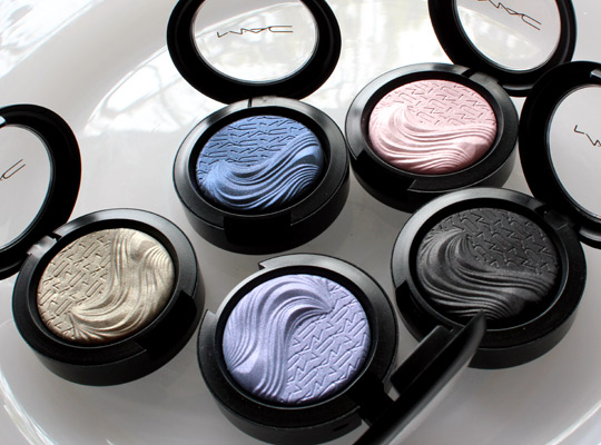 mac extra dimension eye shadows