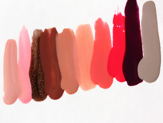 milani nail lacquer swatches