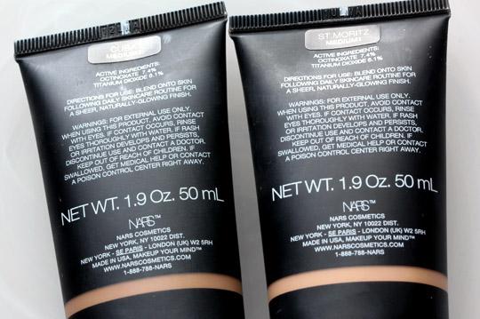 nars pure radiant tinted moisturizer