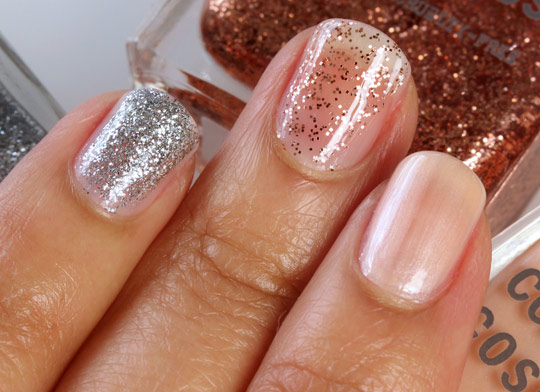 obsessive compulsive cosmetics the garden swatches nail lacquers 1