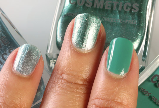 obsessive compulsive cosmetics the garden swatches nail lacquers 2