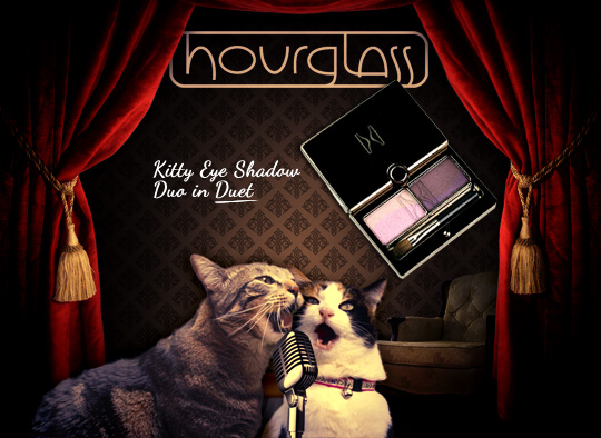 Tabs for Hourglass Eye Shadow Duo in Duet