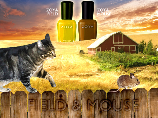 Tabs for Zoya Field and Mouse