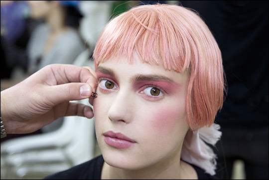 2012-13 chanel Cruise Show Makeup