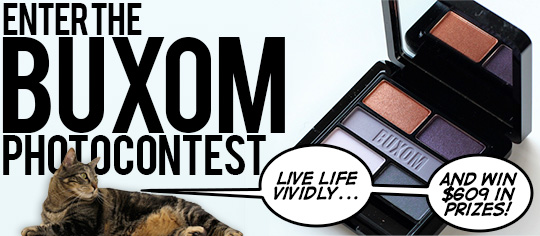Enter the Buxom Photo Contest on Makeup and Beauty Blog Today