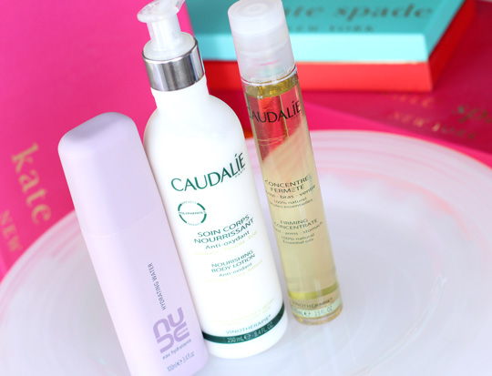 caudalie hydrating water nourishing body lotion firming concentrate
