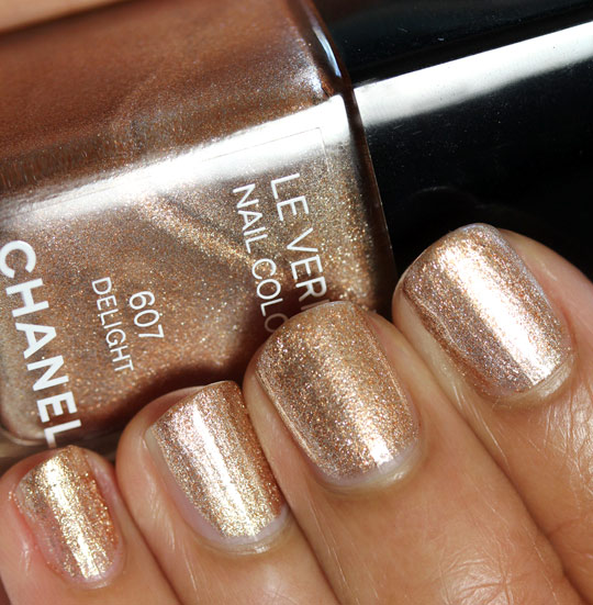 chanel delight swatch