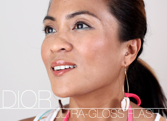 dior ultra gloss flash pareo orange