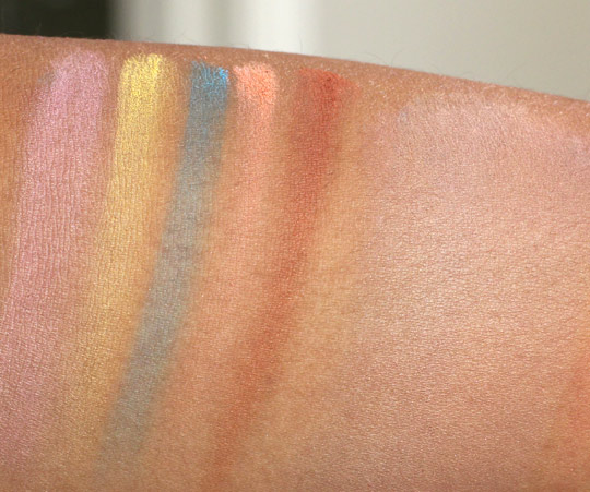 mac beth ditto swatches
