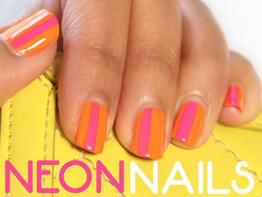 neon nails 1
