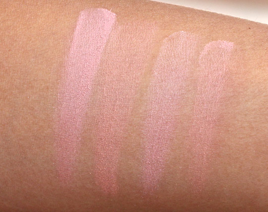 rimmel match perfection blush swatches