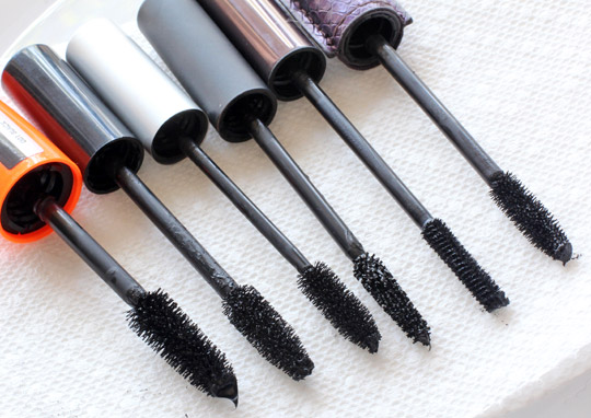 rimmel volume flash scandal eyes mascara brush comparisons