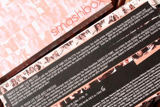 smashbox shades of fame eye palette 6