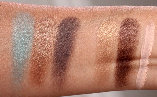 smashbox shades of fame eye palette swatches 2