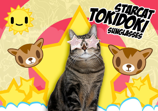 Tabs for the Tokidoki Tabby Sunglasses
