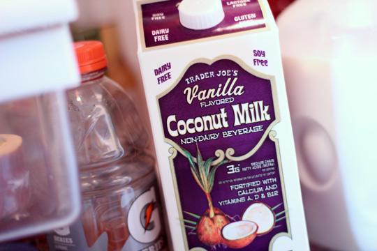 trader joes vanilla coconut milk