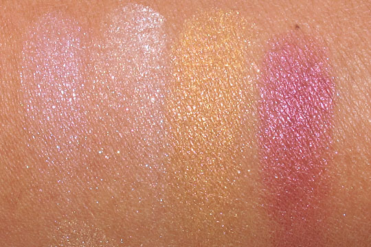 yves saint laurent summer 2012 swatches