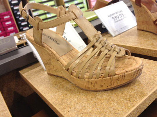 audrey brooke caress shoe