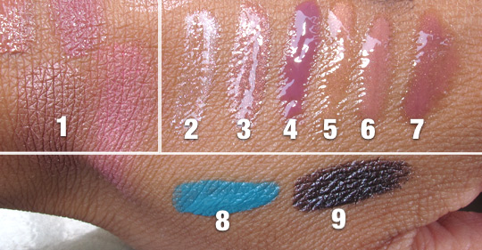 bobbi brown desert twilight fall 2012 swatches 1