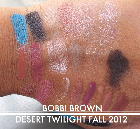 bobbi brown desert twilight fall 2012