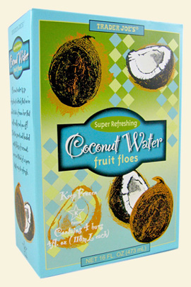 Coconut Water Fruit Floes