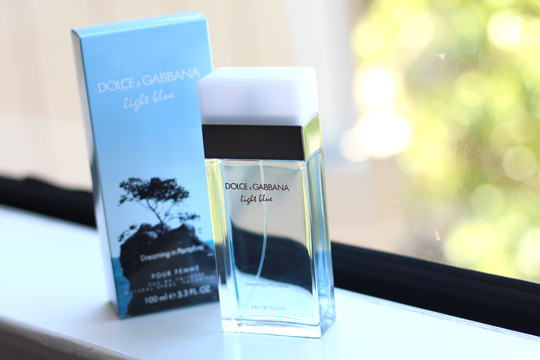 dolce gabbana light blue dreaming of portofino