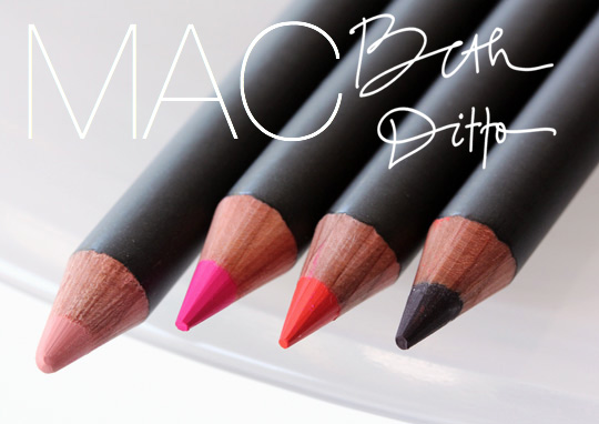 mac beth ditto lip pencils