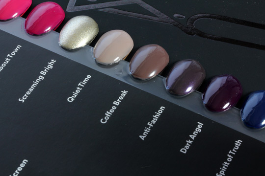 mac nail lacquer swatches 5