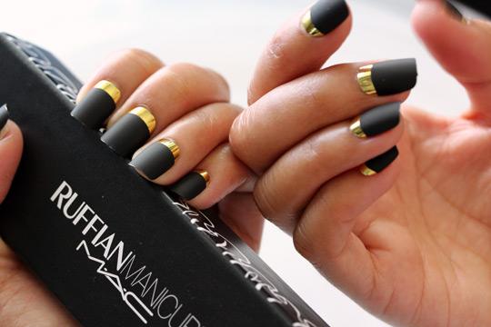 Mac Ruffian Manicures In Spectator Demoiselle And Demilune
