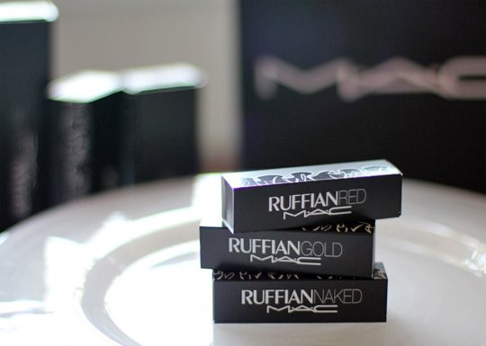 mac ruffian lipsticks