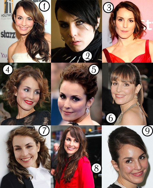 Noomi Rapace: Her Best Hair
