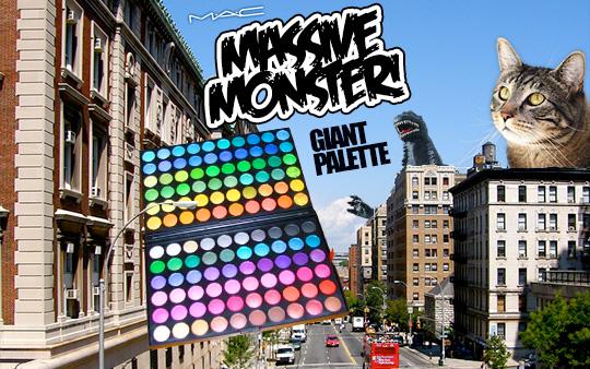 Tabs for the MAC Massive Monster Palette